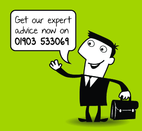 Mr Biz Advice says call us on 01903 553069